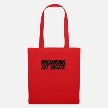 wedding - Stoffbeutel