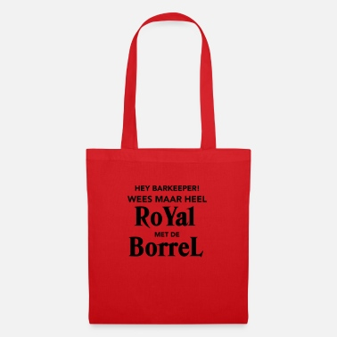 Borrel Royal met de Borrel - Stoffentas