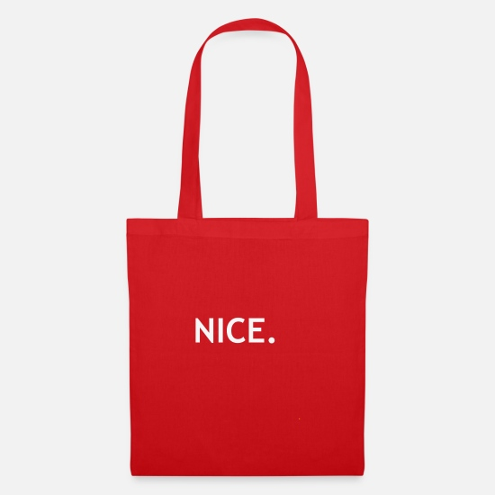 Beautiful Bags & Backpacks - NICE - Tote Bag red