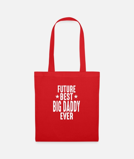 Big Bags & Backpacks - Future Big Daddy - Tote Bag red