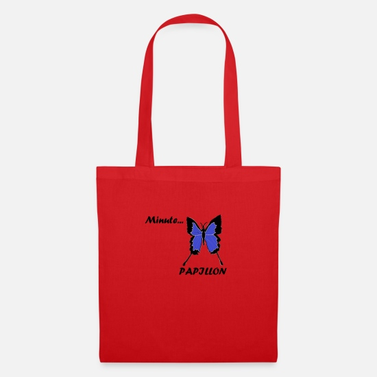 Flutter Bags & Backpacks - Wait a minute - Tote Bag red