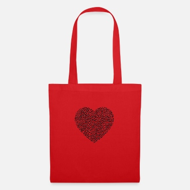Corazon heart heart corazon black - Tote Bag