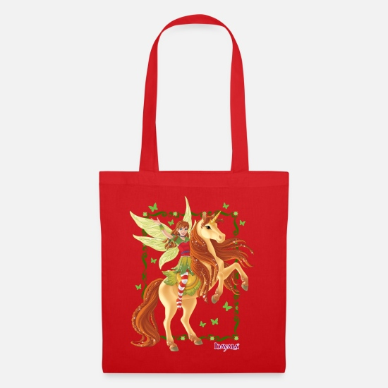 Bayala Bags & Backpacks - Schleich bayala Marween rides unicorn - Tote Bag red
