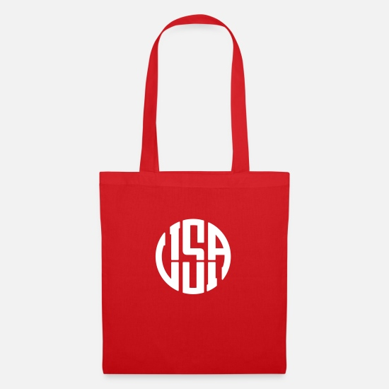 Usa Bags & Backpacks - USA - Tote Bag red
