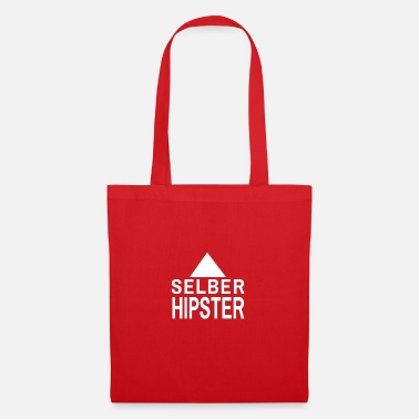 Selber Hipster SELBER HIPSTER / HIP / GESCHENK IDEE - Stoffbeutel