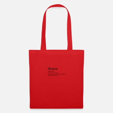 At Home Home at home - Tote Bag
