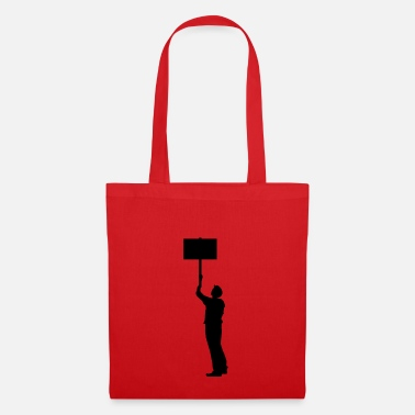 Protests protester - Tote Bag