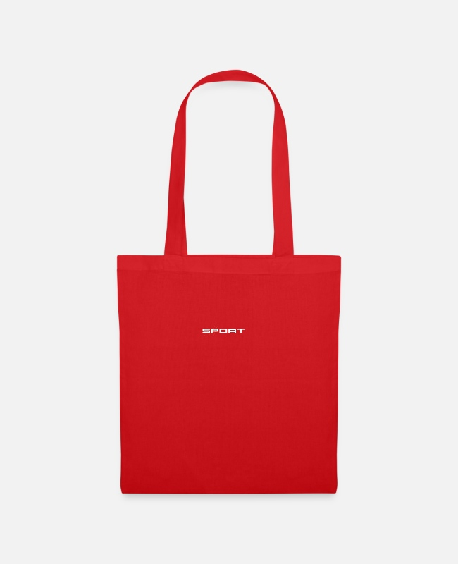 Training Bags & Backpacks - Sports - Tote Bag red
