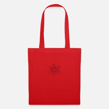 Cube 435px Metatron cube svg - Tote Bag