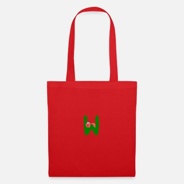 First Name Letter W - Tote Bag