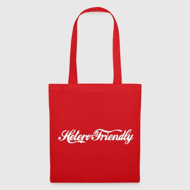 hetero friendly - Bolsa de tela