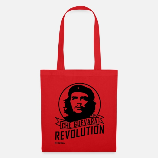 Officialbrands Bags & Backpacks - Che Guevara Revolution Flex Tote Bag - Tote Bag red