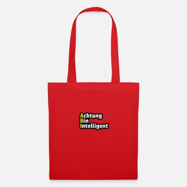 Bac Attention Bin haute école dit - Tote Bag