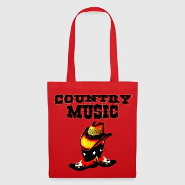 country music - Stoffbeutel