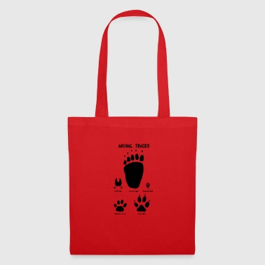 Traces d'animaux - Traces d'animaux - Tote Bag
