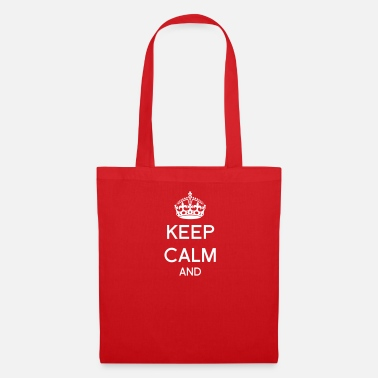 Keep Calm And Keep calm and Corona - Bolsa de tela