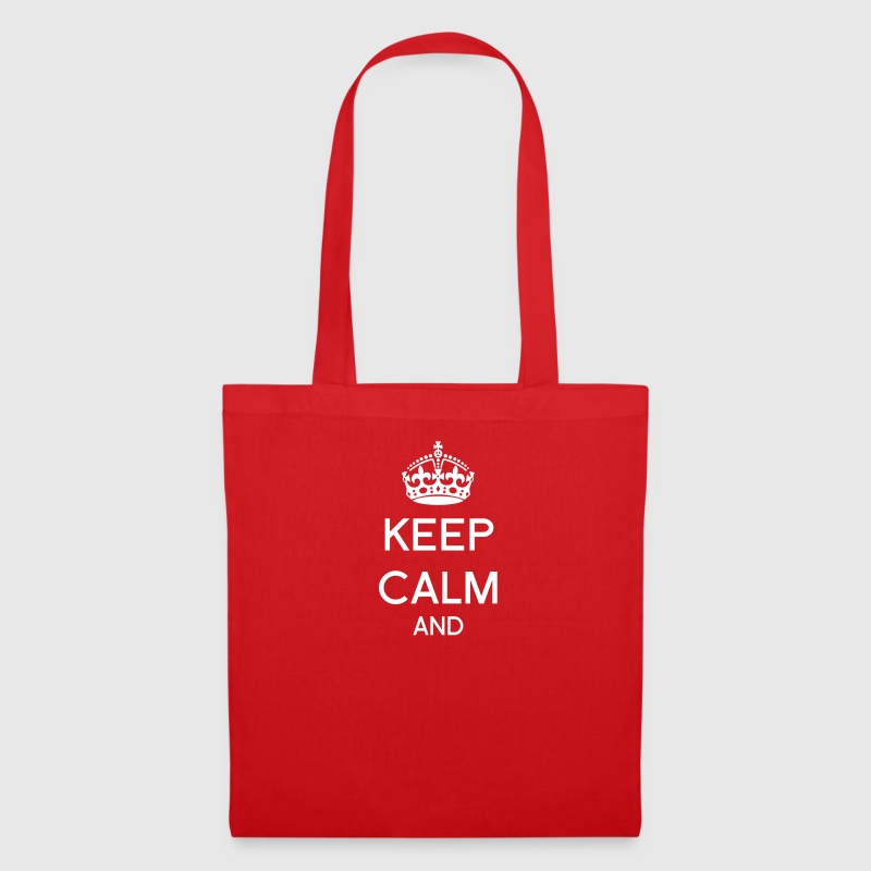 Keep calm à personnaliser - Tote Bag