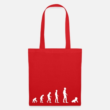 Toddler Baby Kid Toddler - Evolution - Tote Bag