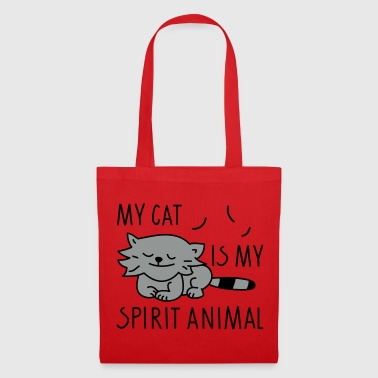 spirit animal - Bolsa de tela
