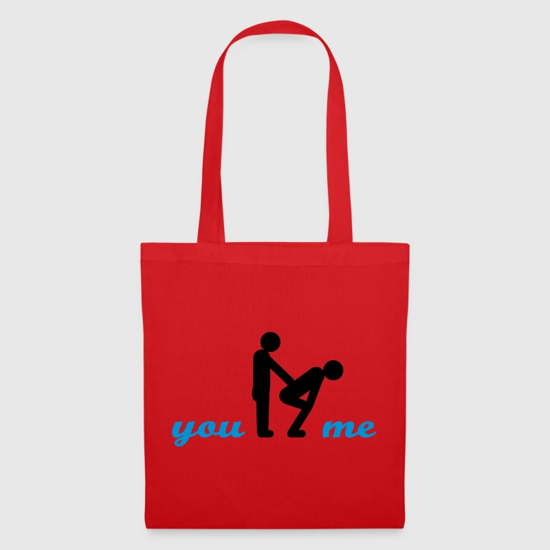 gay guys bottom - Tote Bag