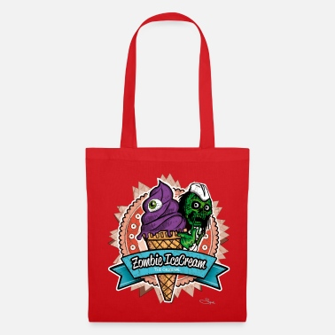 zombie ice cream - Tote Bag