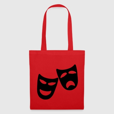 Tragedy and Comedy - Tote Bag