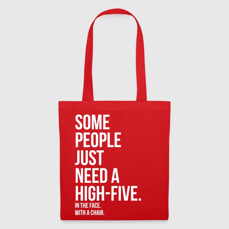 some people need highfive face chair - Tote Bag