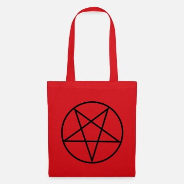 Pentacle Inverted Pentagram / Pentacle - Tote Bag