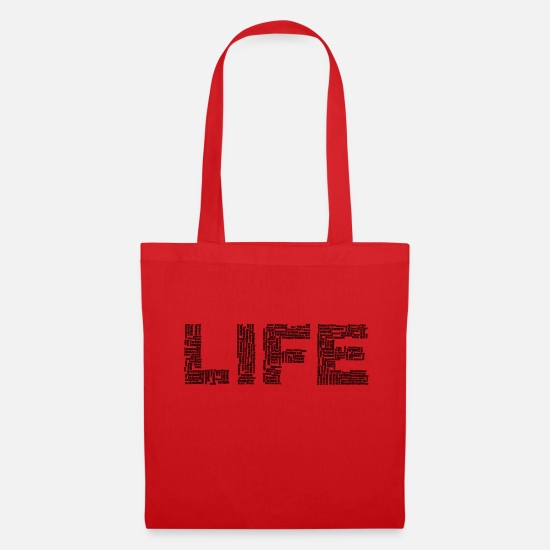 Symbol  Bags & Backpacks - LIFE - Tote Bag red