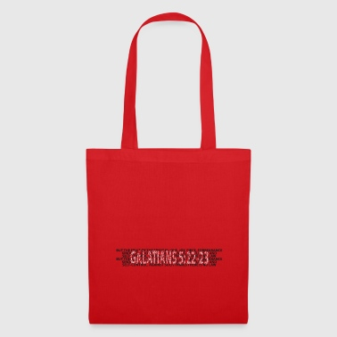 Bible Verse Galatians 5 22 Galatians Bible Prayer Bible Verse - Tote Bag