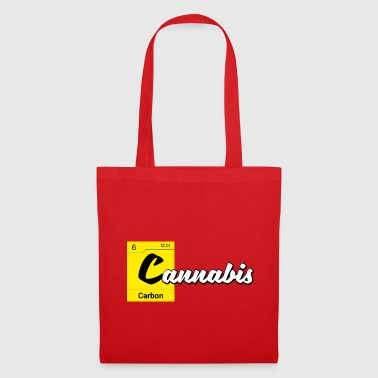 Cannabis Periodic Table Carbon - Tote Bag