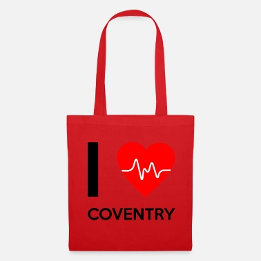 Coventry J'aime Coventry - I Love Coventry - Tote Bag