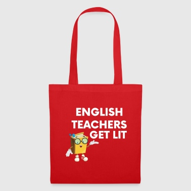 Funny English teacher wordplay literature - Tote Bag