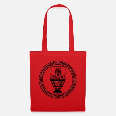 Mythologie Vase de la mythologie grecque - Tote Bag
