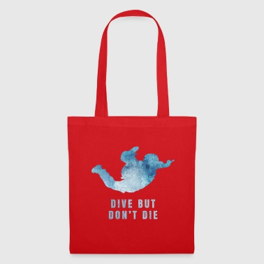 Skydiving Skydiving Skydive Gift Idea - Borsa di stoffa