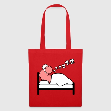 Snake zzz snore bed tired sleep sleepy wet - Tote Bag