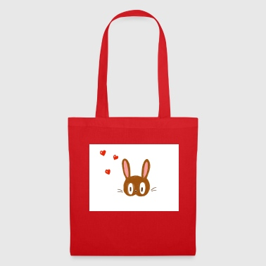 Le lapin amoureux - Tote Bag