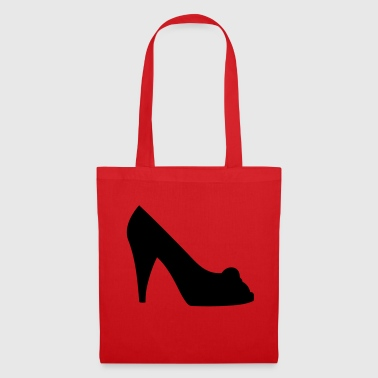 Vector highheels Silhouette - Tote Bag