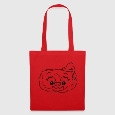 Santa Claus potato Christmas winter gift - Tote Bag