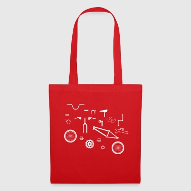 Bicycle puzzle - Tote Bag