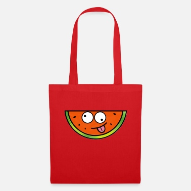 Weird Crazy Weird Watermelon - Tote Bag