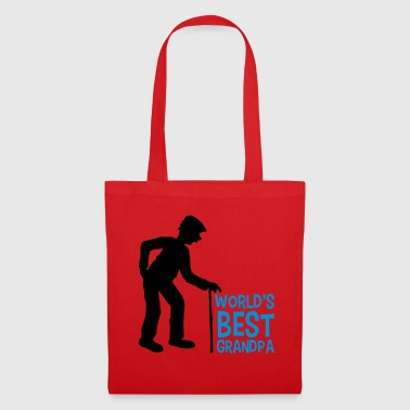 worlds best grandpa world best stock hat go ru - Tote Bag