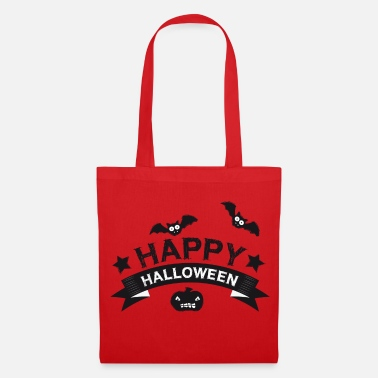 Happy Halloween | Kürbis | Fledermaus | Horror - Tote Bag
