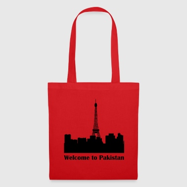 pakistan black - Tote Bag