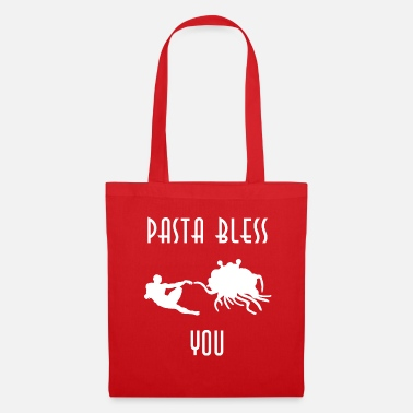 Bless You pasta bless you white - Tote Bag