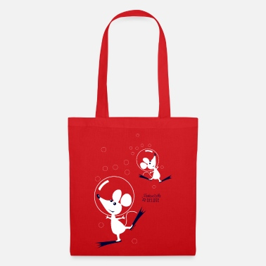 Mademoiselle Deluxe Dancing Mouses - Tote Bag