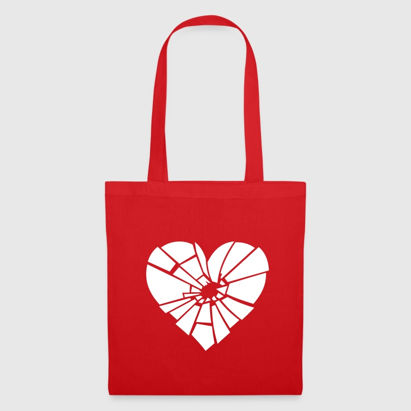 shattered heart - Tote Bag
