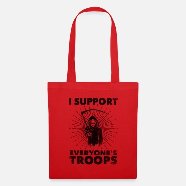 Wikileaks I Support Everyone's Troops (Political /Statement) - Tote Bag
