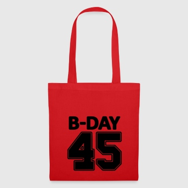 45th Birthday / Numbers Number Number Number 45 - Tote Bag
