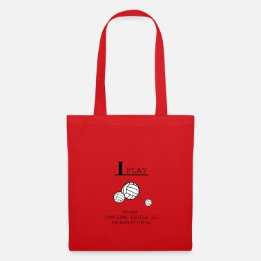 Volley-ball Féminin Volley-ball, beach-volley, les filles de volley-ball - Tote Bag
